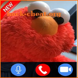 Funny Calling-Elmi Doll call you icon