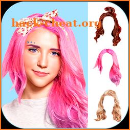 Girls Hairstyles Photo Editor icon