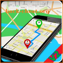 GPS Navigation Maps - Traffic Route Finder 3D View icon