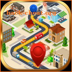 GPS Route Finder, Maps, Navigations & Directions icon
