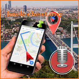 GPS Voice Street View: Voice Navigation,Speed Cam icon