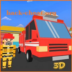 Grand Toon City Robot Fire Fighter Rescue Mission icon