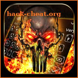 Grim Hell Fire Keyboard icon