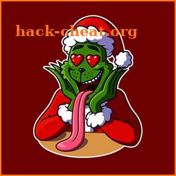 Grinch Christmas Sticker for WhatsApp icon