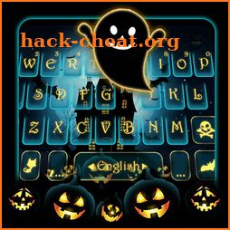 Halloween Ghost Keyboard Theme icon