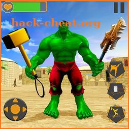 Hammer Superhero War: Incredible Bulk Monster Hero icon