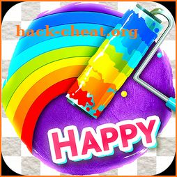 Happy Brush - Recolor Poly Art with Paintbrush icon