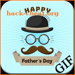 Happy Fathers Day GIF icon