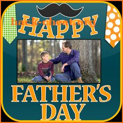 Happy Father's Day Photo Frame icon