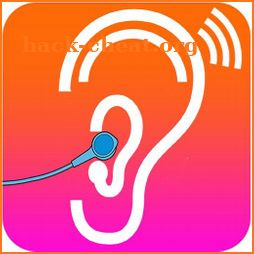 Hearing enhancer - hearing aid amplifier icon