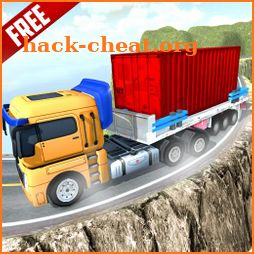 Heavy Trailer Truck Driving Uphill:Truck Simulator icon