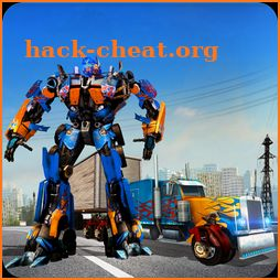 Heavy Truck Robot Giant Truck Driver Simulator icon
