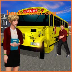High School Bus Simulator: City Bus Driving icon