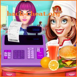 Highschool Cashier Girl – Cafe Story icon