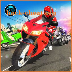 Highway Rider Bike Racing: Crazy Bike Traffic Race icon