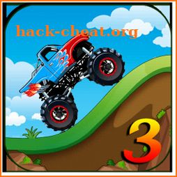 Hill Climb 3 ; Monster Truck Racing Climber icon