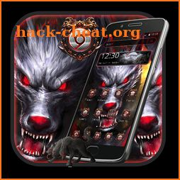 Horror Red Eye Wolf Theme icon