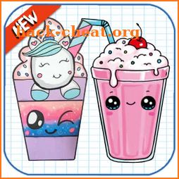 How To Draw Cute Sweet Drinks icon