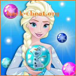 Ice Queen Frozen Bubble icon
