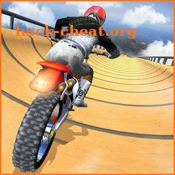 Impossible Mega Ramp Moto Bike Tricky Stunts 2019 icon