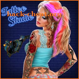 Ink Tattoo Maker Games: Design Tattoo Games Studio icon