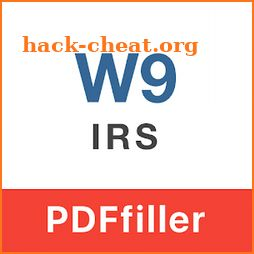 IRS W-9 form icon