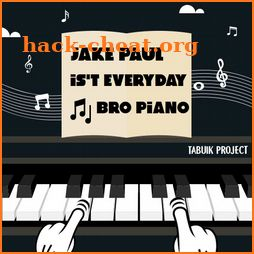 Jake Paul It's Everyday Bro Piano Tiles icon