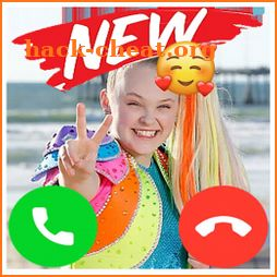 Jojo Friend Fake Video Call icon