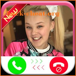 Jojo Siwa calling you - Fake phone call ID - Prank icon