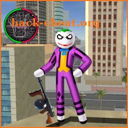 Joker Counter Stickman Rope Hero Crime OffRoad icon