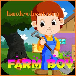 Kavi games - 412 Farm Boy Rescue Game icon