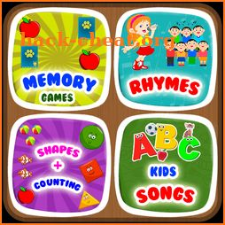 Kids ABC Learning, Nursery Rhyme, Memory Game 2019 icon