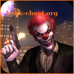 Killer Clown Bank Cash Robbery Real Gangster icon