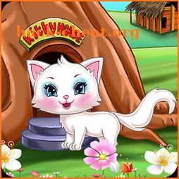 Kitty Kate Cleaning the House Tree icon