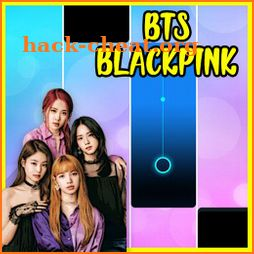 KPOP Piano Black Pink Tiles icon