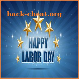 Labor Day Greeting Card icon