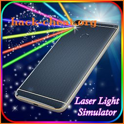 Laser Flash Light Simulator: Color Laser Simulator icon