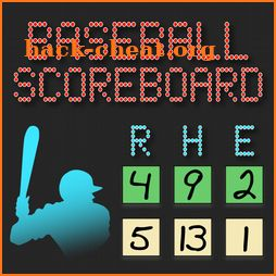 Lazy Guy's Baseball Scoreboard icon