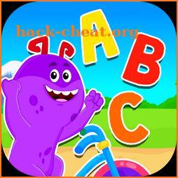 Learn ABC Alphabet - Bike Rider Games For Kids icon