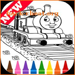 Learn Coloring for Thomas Train Friends by Fans icon