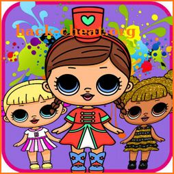 Learn How To Draw Dolls and Coloring icon
