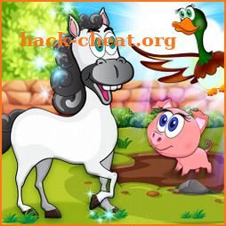 Learning Farm Animals: Educational Games For Kids icon