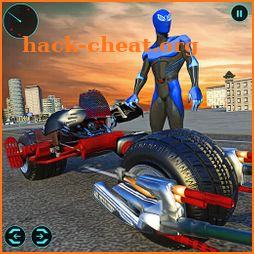 Light Bike Superhero City Rescue Moto Bike Games icon