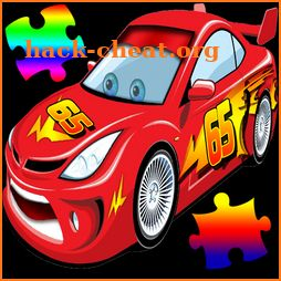 Lightning puzzle with McQueen icon