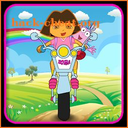 Little Dora Moto Hill Racing - Climbing Mountains icon