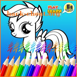 Little Pony Coloring Book icon