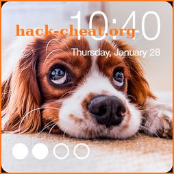 Little Puppy Dog Lock Security Password AppLock icon