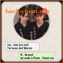 Live Chat With Lucas And Marcus - Prank icon