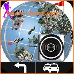 Live GPS Street View & Tracking Navigator Maps icon