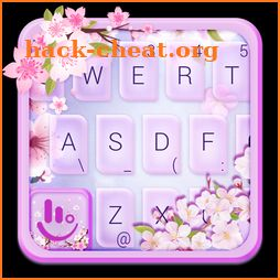 Live Pink Cherry Blossom Keyboard Theme icon